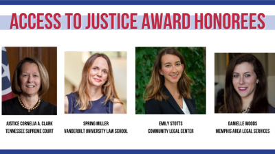 TALS Announces 2020 Access to Justice Award Winners