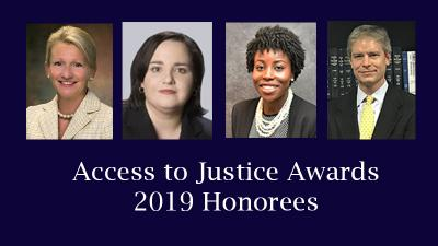 TALS Announces 2019 Access to Justice Award Recipients